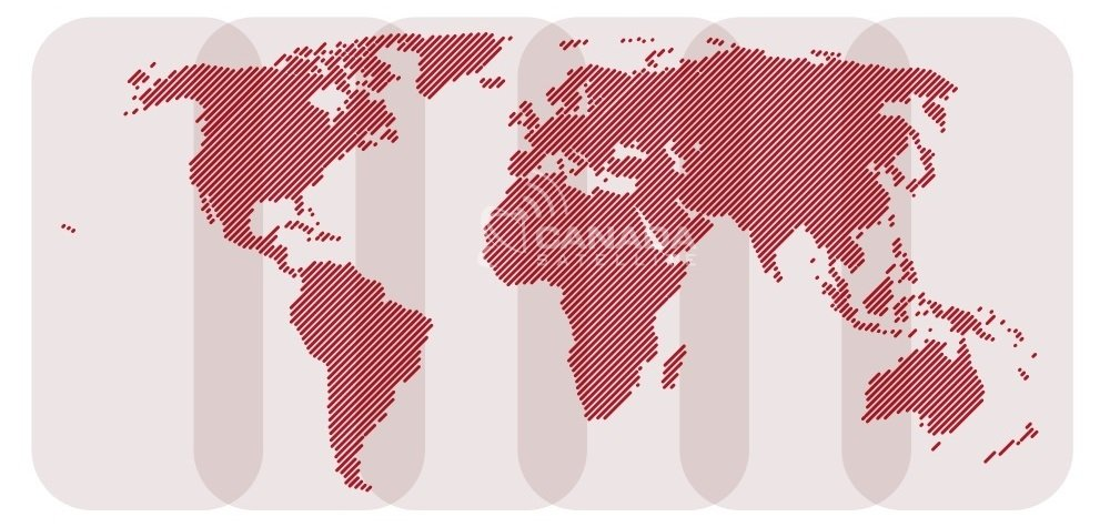 Iridium Global Coverage Map